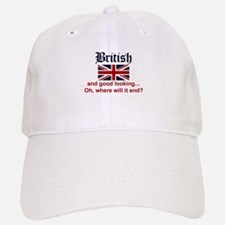 Good Looking British Baseball Baseball Cap