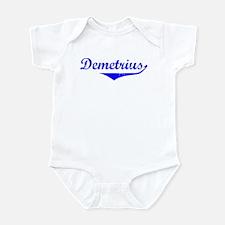 Demetrius Vintage (Blue) Infant Bodysuit