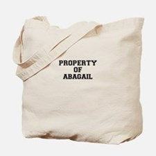 Property of ABAGAIL Tote Bag