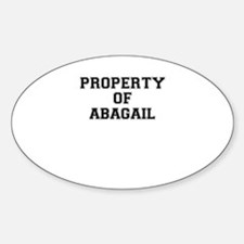 Property of ABAGAIL Decal
