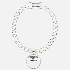 Property of ABAGAIL Bracelet