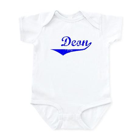 Deon Vintage (Blue) Infant Bodysuit