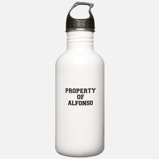 Property of ALFONSO Sports Water Bottle