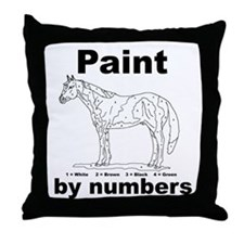 Cute Apha Throw Pillow