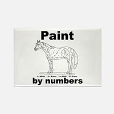 Funny Apha Rectangle Magnet
