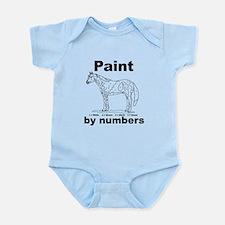 Unique Paint horse Infant Bodysuit