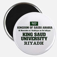SAUDI ARABIA - KING SAUD UNIVERSI Magnets