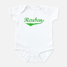 Reuben Vintage (Green) Infant Bodysuit