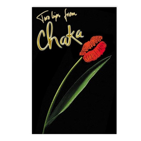 Two Lips Postcards (Package of 8)