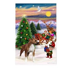 Xmas Tree Elf / Am Staff Postcards (Package of 8)