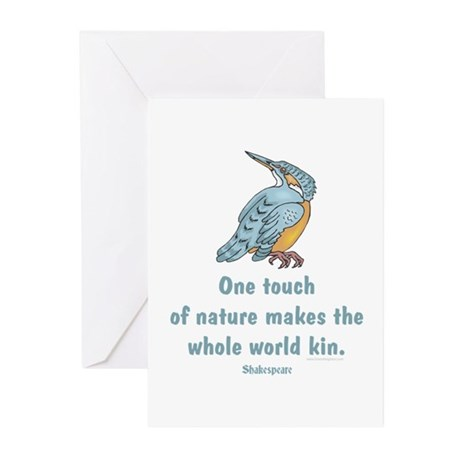 Shakespeare Nature & Peace Quote Greeting Cards (P
