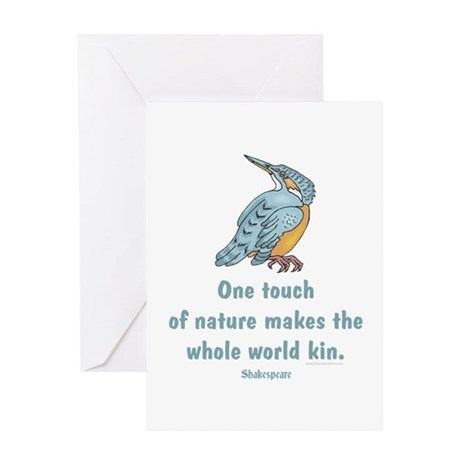 Shakespeare Nature & Peace Quote Greeting Card