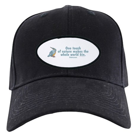 Shakespeare Nature & Peace Quote Black Cap
