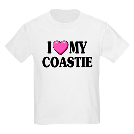 I Love ( Heart ) My Coastie Kids T-Shirt