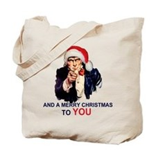 Recruiting for Christmas Tote Bag