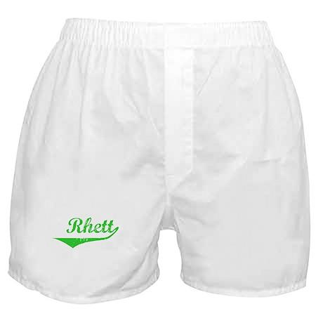 Rhett Vintage (Green) Boxer Shorts