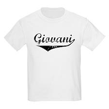 Giovani Vintage (Black) T-Shirt