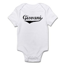 Giovani Vintage (Black) Infant Bodysuit