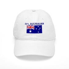 50 PERCENT AUSTRALIAN Baseball Cap