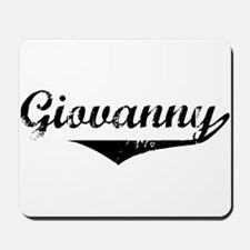 Giovanny Vintage (Black) Mousepad