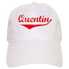 Quentin Vintage (Red) Baseball Cap