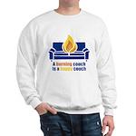 Happy Couch Sweatshirt
