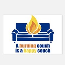 Happy Couch Postcards (Package of 8)