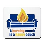 Happy Couch Mousepad
