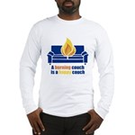 Happy Couch Long Sleeve T-Shirt
