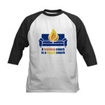 Happy Couch Kids Baseball Jersey