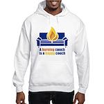 Happy Couch Hooded Sweatshirt