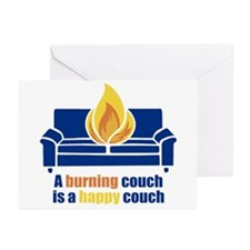 Happy Couch Greeting Cards (Pk of 20)