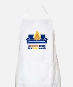Happy Couch BBQ Apron