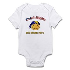 Made in America with Bosnian part's Infant Bodysui