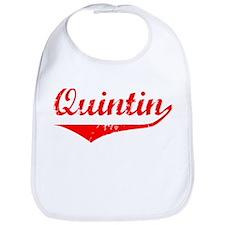 Quintin Vintage (Red) Bib