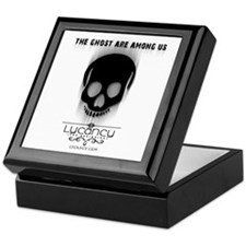 Ghost - Light background Keepsake Box