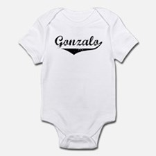 Gonzalo Vintage (Black) Infant Bodysuit