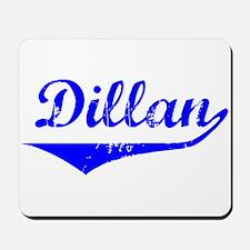 Dillan Vintage (Blue) Mousepad