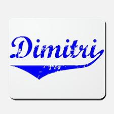 Dimitri Vintage (Blue) Mousepad