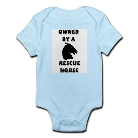 Owned by a Rescue Horse Infant Creeper