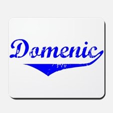 Domenic Vintage (Blue) Mousepad