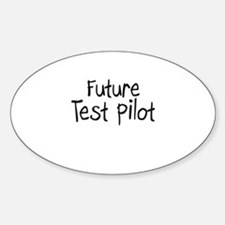 Future Test Pilot Oval Decal