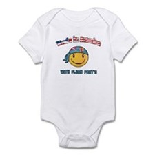 Made in America with Fijian part's Infant Bodysuit