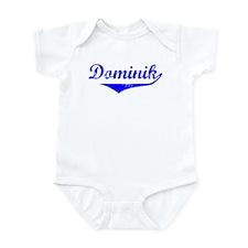 Dominik Vintage (Blue) Infant Bodysuit