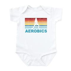 Retro Aerobics Infant Bodysuit