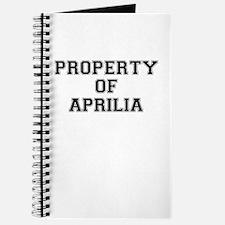 Property of APRILIA Journal