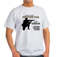 Loved  Protected Grandson T-Shirt