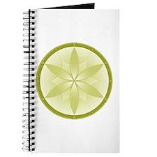 Tan Flower Crop Circles Journal