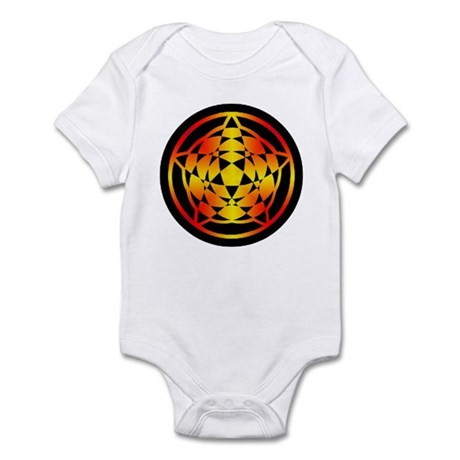 Crop Circle Star Gradient Infant Bodysuit