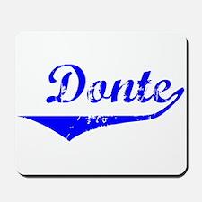 Donte Vintage (Blue) Mousepad